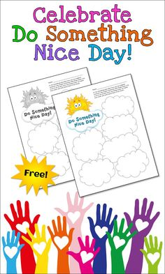Did you know that October 5th is Do Something Nice Day? What a great opportunity to focus positive character development and the importance of being kind to others! Download this freebie to use on October 5th or any day of the year, and enter a giveaway for a $25 TpT gift card!
