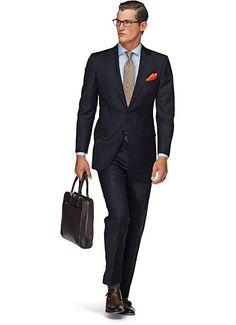 Suit Blue Plain London P2529e | Suitsupply Online Store