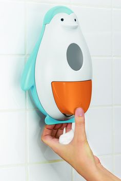 Skip Hop Penguin Soapster Foaming Soap Dispenser  - Cute $25.00