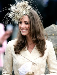 Kate Middleton showcasing an Easter fascinator. British Hats 29091593d372