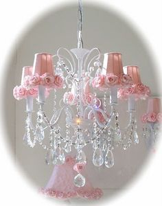 Pink Chandelier for inside my dream closet! #matildajaneclothing #MJCdreamcloset