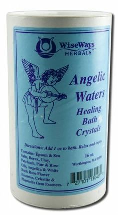 Bath Salts Angelic Waters 16 Ounces by Wise Ways Herbals. $11.05. 16 Ounces Granule. Serving Size:. Awaken to the heavenly fragrances.