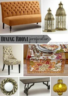 Dining Room Pinspiration for the Holidays with @Cost Plus World Market #WorldMarket_BF