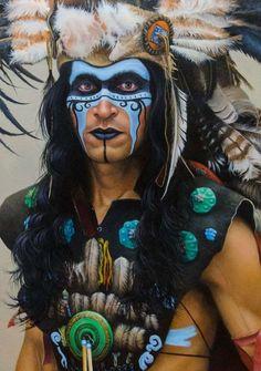 maquillage Halloween pour homme facile et effrayant