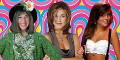 Photoshop 90s fashion trends, Mayim Bialik, Jennifer Aniston, Tiffani-Amber Thiessen