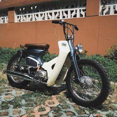 Honda #motorcycles #bratstyle #motos | caferacerpasion.com