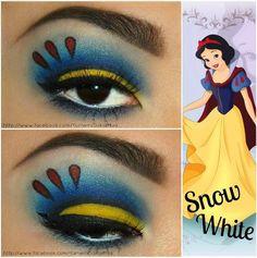 snow white make-up