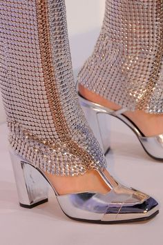 Paco Rabanne FW 2013/ Silver Want these so bad.