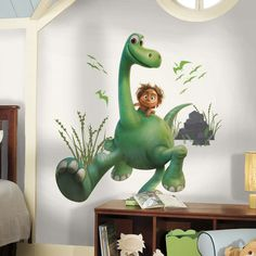 The Good Dinosaur Arlo and Spot Giant Wall Decals - Wall Sticker Outlet