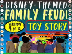 DISNEY-THEMED FAMILY FEUD GAME BUNDLE - ALL 12 VERSIONS!!! | TpT