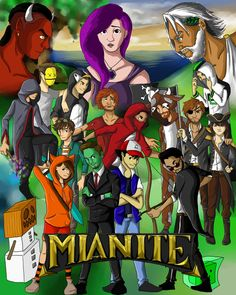 Mianite Season 1 Fan Art          #Mianite  by- chaos-walking59