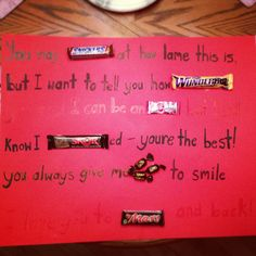 valentines candy poem i made for my husband<3 | pinned it, Ideas
