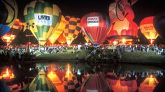 Balloon Glow at Forest Park Balloon Race