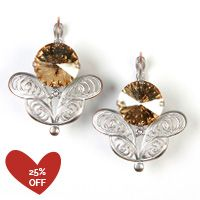 Check out Sabika! - HISTORICAL Fancy Drop Earrings (S1720)