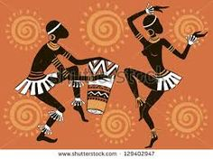 Find African Woman Dancing Woman Dancing Aborigines stock images in HD and millions of other royalty-free stock photos, illustrations and vectors in the Shutterstock collection. Thousands of new, high-quality pictures added every day. African Art Paintings, African Artwork, African American Art, African Women, Afrika Tattoos, Tribal Art Tattoos, Afrique Art, African Dance, Arte Tribal