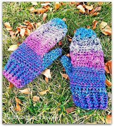 Crochet Mittens Free Pattern