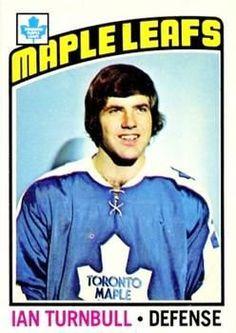 Ian Turnbull Toronto Maple Leafs One tough defenseman Hockey Cards, Baseball Cards, Good Old Times, Sports Figures, Toronto Maple Leafs, Hockey Players, Leaves, Sports Pics, Legends