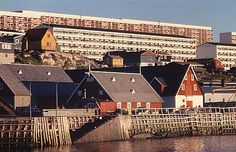 The old port in the capital of Greenland, Nuuk. It's from 1728, when Hans Egede came to the place.