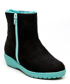 Another great find on #zulily! Black & Blue Sternway Boot #zulilyfinds