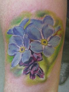 Looking for unique Flower tattoos Tattoos?  forget me not flower tattoo