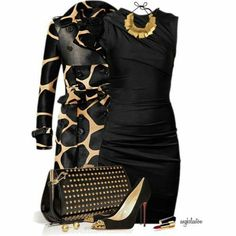 Fab LBD. impact with this classy statement jacket. Nicely done