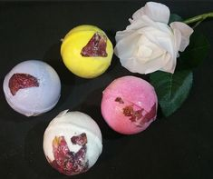 FLOWER BATH BOMBS  * Wholesale welcome * Great for gifts