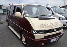 Classy VW T4 seen at Santa Pod in July 2014