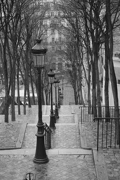 A view of Paris by Brassai, a Hungarian artist who moved to France in the mid-1920s.