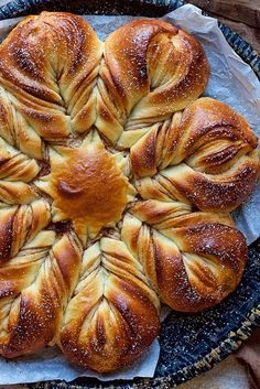Cinnamon Star Bread Recipe I have made this every Christmas for 30(?) years. I used a recipe that was a winner in the Pillsbury Bake-off contest. I love how the twists form a star