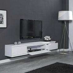 Tv-meubel wit zwevend   Design meubelen en de laatste woontrends