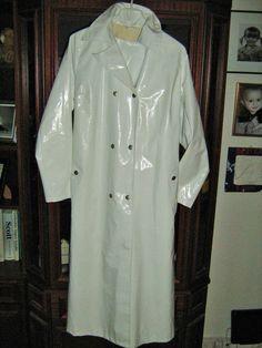 Raincoat Rain Coat Rubber Latex Regenmantel Mantel Gummi Rukka Impermable Pvc…