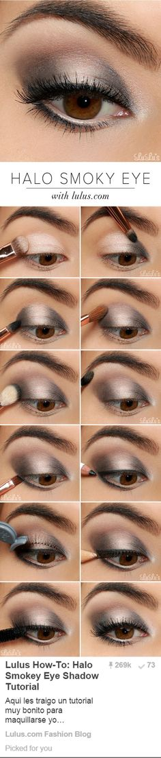 halo smoky eye
