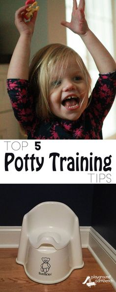 Potty training shouldn't be a battle. Celebrate and reward successes, learn from the accidents, and make this big transition to being a big kid stress free for both you and your toddler with my Top 5 Potty Training Tips   #PottyTrainTogether   ad #HowToPottyTrain