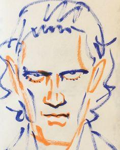 いいね!12件、コメント1件 ― @1mindrawのInstagramアカウント: 「#1mindraw #antoniobanderas #アントニオバンデラス #actor #俳優 #desperado #デスペラード #19600810 #birthday #誕生日…」