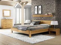 "Eichenschlafzimmer mit Massivholzbett ""Dana"""