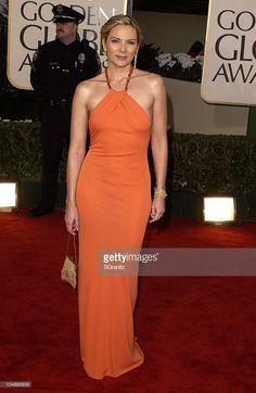 Kim Cattrall - 2002 Golden Globes Event Dresses, Formal Dresses, Rebecca Miller, Kim Cattrall, Samantha Jones, Golden Globes, Body Shapes, Dress Skirt, Gowns
