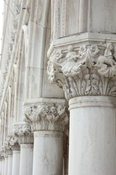 These columns are a mix between a tuscan and a corinthian column. The sides of the column are of a tuscan design, but the tops are of a corinthian design. Architecture Design, Classic Architecture, Beautiful Architecture, Roman Architecture, Architecture Wallpaper, Ancient Architecture, Statues, Neoclassical Architecture, Tuscan Design