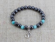 Om bracelet Spiritual jewelry Meditation bracelet Reiki bracelet Yoga jewelry Mantra bracelet men Unique gift for teacher gift for dad gifts by StonesEnergy on Etsy https://www.etsy.com/listing/512150734/om-bracelet-spiritual-jewelry-meditation