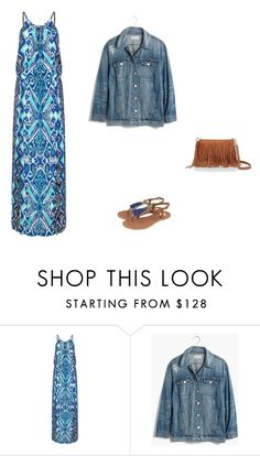 """70"" by cami-ithu on Polyvore featuring moda, Hale Bob y Madewell"
