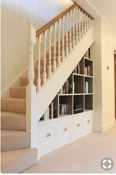 Love the built in bookcase