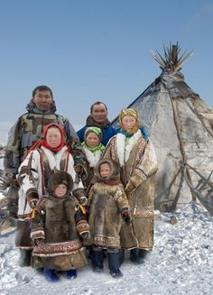 Travel Back in Time and Learn The Way of Life, Cultures, And Traditions of Some of The Recognised Indigenous Russia! We Are The World, People Around The World, Tribes Of The World, Inuit People, North Asia, Russian Culture, World Of Color, World Cultures, First Nations