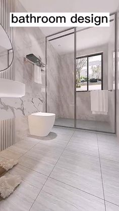 Washroom Design, Bathroom Design Layout, Bathroom Design Inspiration, Toilet Design, Bathroom Design Luxury, Modern Bathroom Design, Home Interior Design, Grey Modern Bathrooms, Simple Bathroom Designs