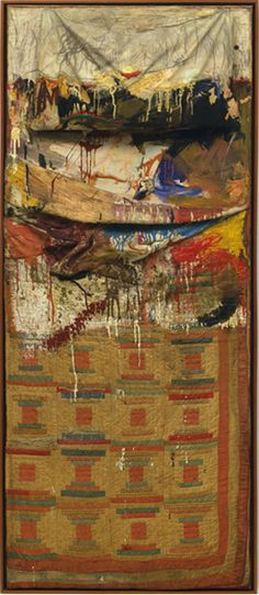 From the archives: Bed 1955, by Robert Rauschenberg.