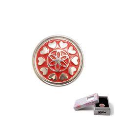 Noosa Amsterdam Valentijn chunk Circle of Love - limited edition. The circle of love staat voor het vormen van een eenheid in relaties. Omdat een cirkel geen begin en geen einde kent symboliseert het eeuwigheid in de liefde.