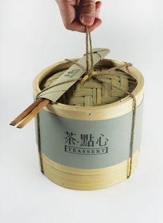 茶点心中国风包装 扑面而来的古意