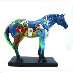 Trail of Painted Ponies Faith Figure