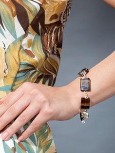 DIY Style: Sparkling Silver Beaded Bracelet