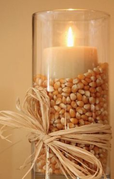 19 Totally Easy & Inexpensive DIY Thanksgiving Decorations Spruce your home up this fall with these easy DIY fall craft Easy Fall Candle Cinnamon Oran Thanksgiving Diy, Thanksgiving Centerpieces, Fun Fall Activities, Autumn Decorating, Decorating Ideas, Fall Diy, Fall Home Decor, Fall Crafts, Christmas Crafts