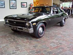 1970 Chevrolet Nova. If only my dad still had his '69 Nova ss maybe I would be driving it now :(