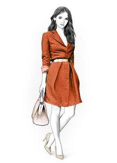 4359 personnalisée manteau couture patron  veste par TipTopFit